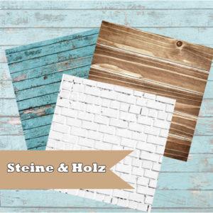 Steine & Holz